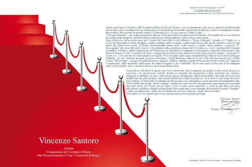 La mia personale introduzione sul volume della serata del Premio, voluta dal Direttivo dell'Accademia.