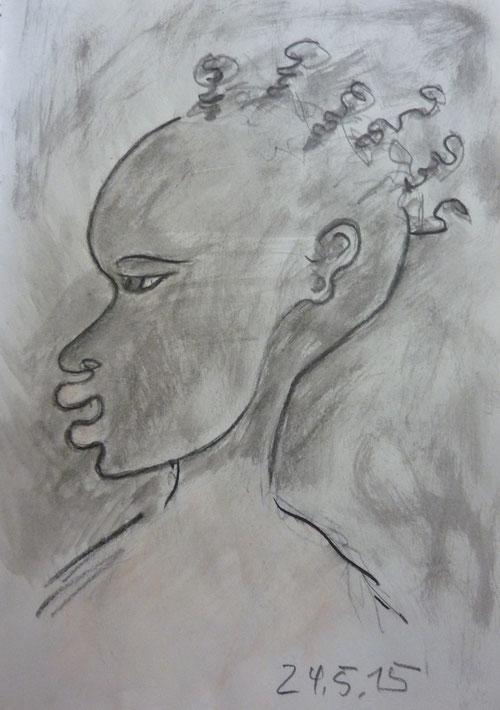Tansanisches Mädchen