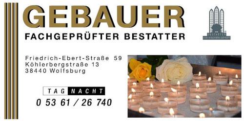 Beerdigungsinstitut Gebauer