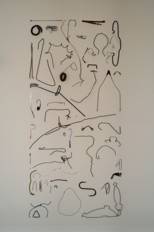 drahtzeichnung; privatsammlung, berlin ©stephan brenn