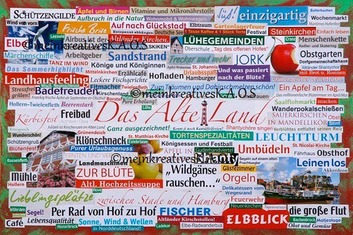 "Collage ""Das Alte Land"""
