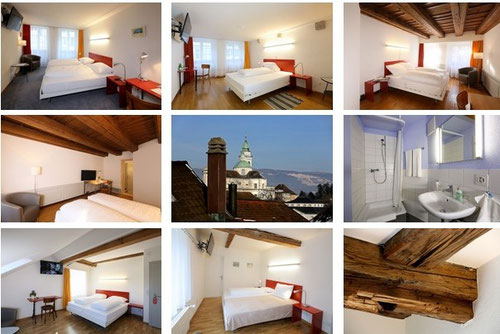 Historisches altes Hotel Solothurn neu renoviert Fotos Roter Ochsen