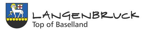 Logo mit Wappen von Langenbruck in Baselland