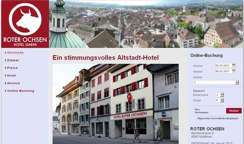 hotel vorstadt solothurn