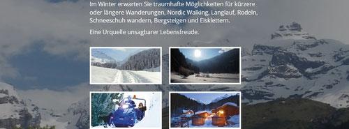 Griesalp Natur pur - im Winter autofrei - mit Schneetöff erreichbar!