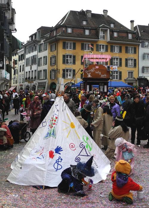 foto fasnacht solothurn 2014