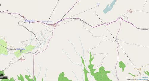 Karte skifahren berneroberland