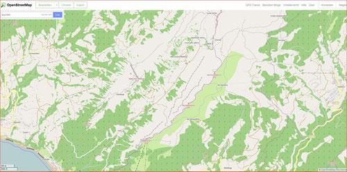 Karte Justistal click ++