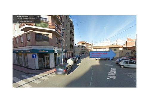 En Calle del Carmen giramos a Calle del Pilar