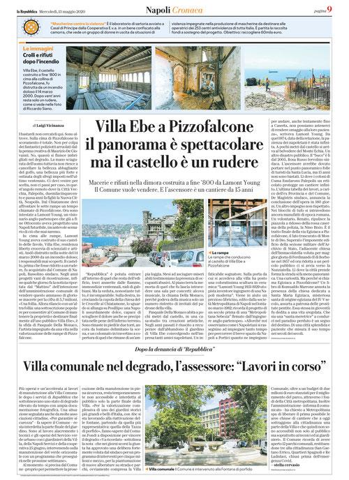 laRepubblica Napoli del 13/05/2020