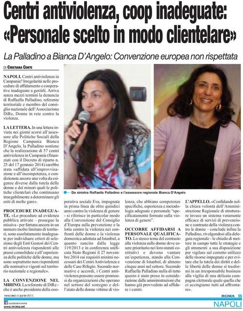 da Roma del 08/05/2015