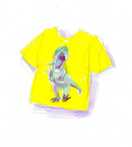 ティラノTシャツ