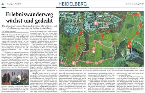(Quelle: Rhein-Neckar-Zeitung vom 11.03.2014)