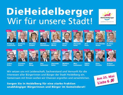 Diese Anzeige finden Sie heute auch in der Rhein-Neckar-Zeitung!