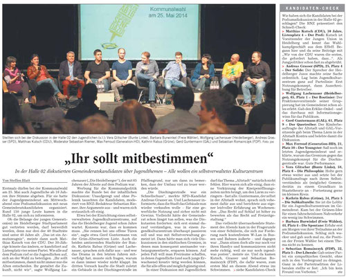 (Quelle: Rhein-Neckar-Zeitung vom 09.05.2014)