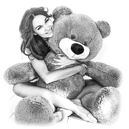 Медведь Тихон 130 см кофейный