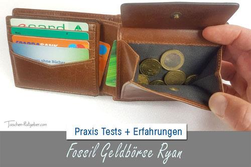 Fossil Geldbörse Ryan, Fossil Geldbörse RFID Test, RFID-Geldbörse Test