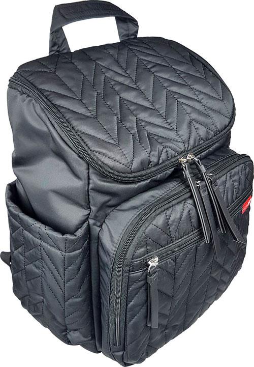 """extra leichter Wickelrucksack schwarz """"Skip Hop Forma Backpack"""""""