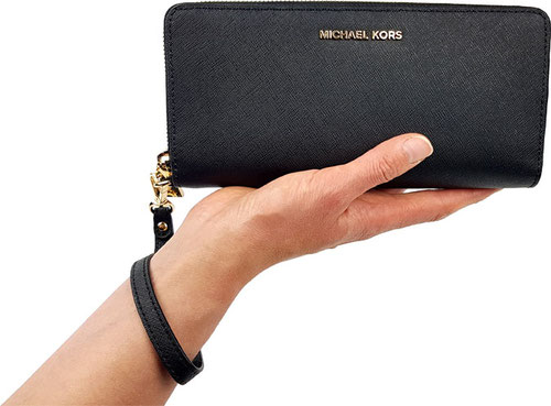 Michael Kors Geldbörse Test, Michael Kors Jet Set Travel Geldbörse
