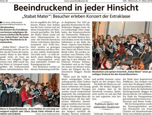 Sauerlandkurier, 27.03.2019