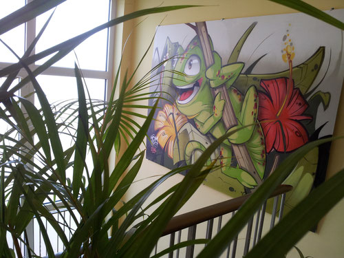 Maskottchen Werbeagentur Design Labor Seckenheim