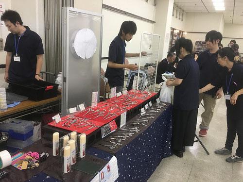 鋏 バリカン 替刃 研ぎ 展示会