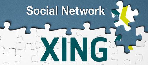 Zu XING - klick auf das Logo