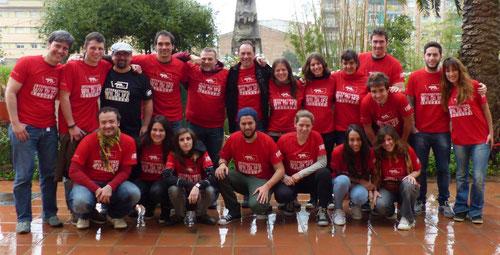 Participantes en uno de nuestros cursos en Catalunya