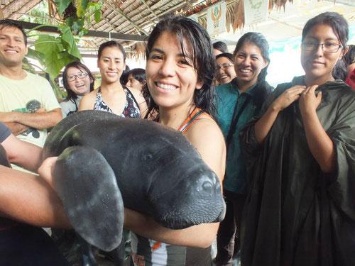 En la foto curso en colaboración con el excelente CREA de Iquitos (Loreto).