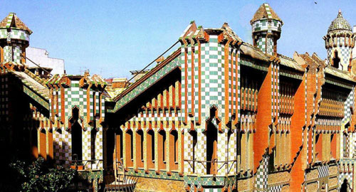 архитектура Гауди, здания Гауди