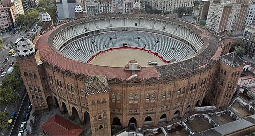 Коррида в Барселоне, площадь корриды в Барселоне