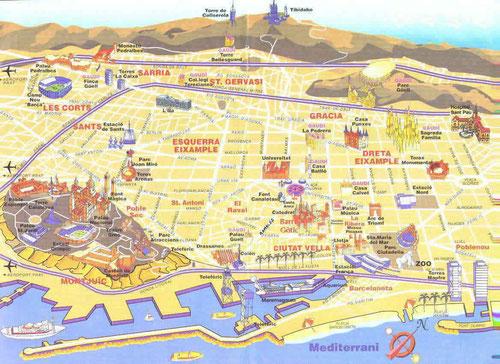 экскурсии в Барселоне, экскурсии по Барселоне, гид в Барселоне