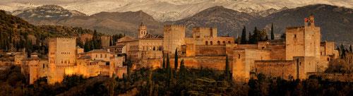 мавританская Испания, мусульманское прошлое Испании, испанские мавры, мавританские крепости, Алямбра, Гранада, Севилья,