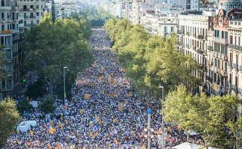 история Каталонии, политика Каталонии, независимость Каталония