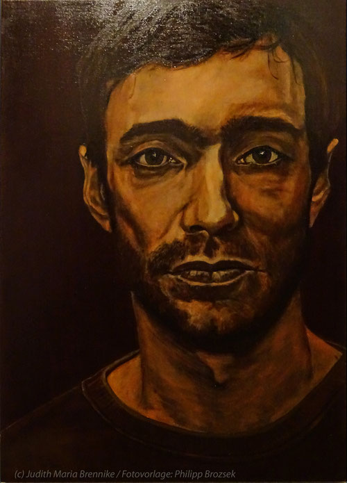 Brennike Malerei 2019 Portrait