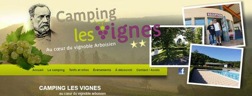 COUP DE COEUR:    http://www.camping-arbois.com/
