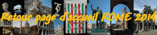 Retour page d'accueil ROME 2014 CLIQUEZ