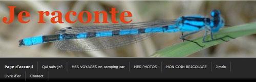 lien pour mon site jeraconte :  Voyages, Photos, Bricolage,