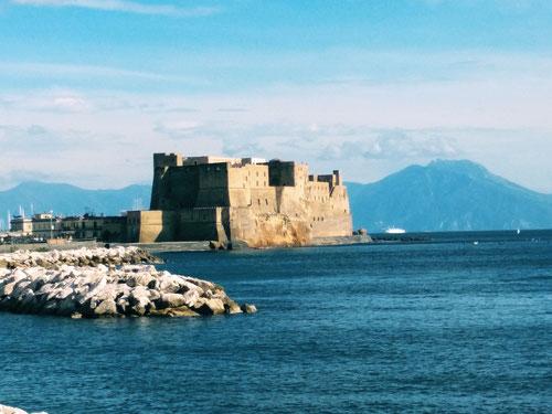 Castel dell'Ovo, il castelli piu antico di Napoli (Photo by Gabriele Ferrando)
