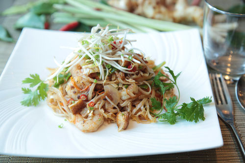 Il Pad Thai, forse il piatto Thai più conosciuto internazionalmente.