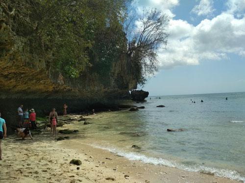 La famosa spiaggia di Padang Padang a Bali (Photo by Gabriele Ferrando)