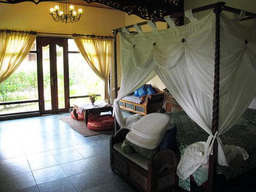 Una delle stanze del Rambutan Boutique Hotel a Lovina - Bali (Photo by Gabriele Ferrando)
