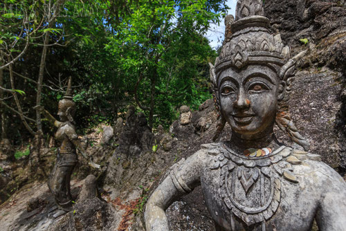 Secret Buddha Garden in Koh Samui (photo by Miles Smileaway)