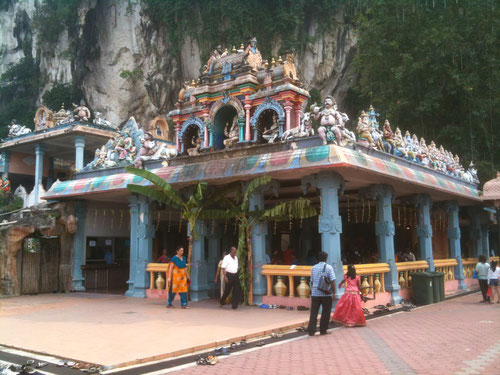 Tempio base a Batu Caves - Kuala Lumpur (Photo by Gabriele Ferrando)