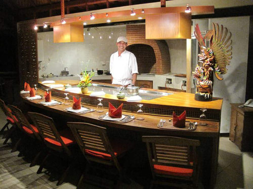 Teppanyaki Restaurant at Puri Dajuma Medewi (Photo By Puri Dajuma)