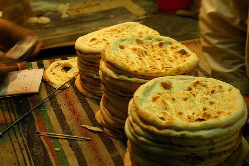 Naan - Focaccine Indiane (Photo by Umari Mohsin)