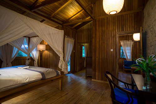 L'interno della Nusa Indah Villa al Siladen resort and Spa (Photo by Siladen Resort and Spa)