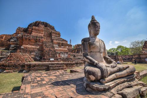 Le rovine di Ayutthaya - Thailandia
