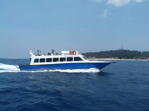 Una delle imbarcazioni della Gili Getaway (Photo By Gili Getaway)
