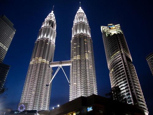 Le famose Petronas Tower a Kuala Lumpur (Photo by Gabriele Ferrando)